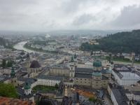 Salzburg und Festung Hohensalzburg